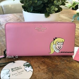 Kate Spade Archie Comics Continental Wallet